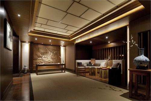木地板样品展示厅效果图片