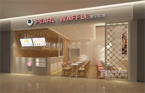 waffle甜品店门面设计