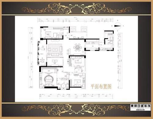豪宅客厅平面布置
