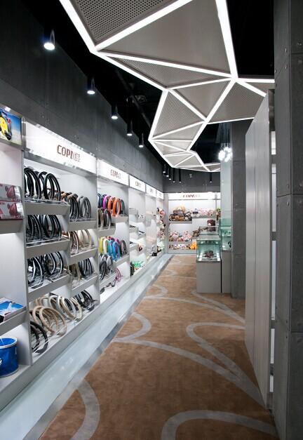 建国凯派汽车用品展厅_美国室内设计中文网