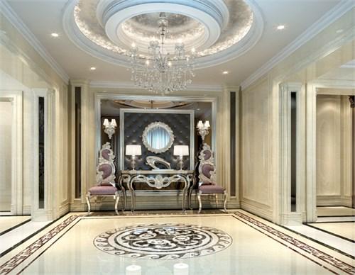欧式新古典别墅空间设计