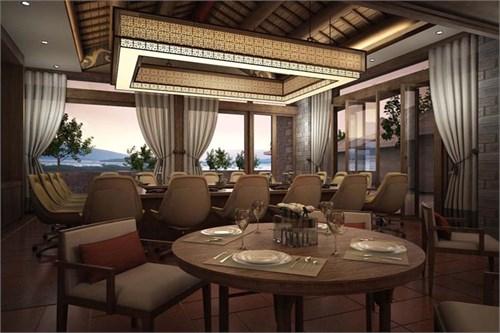 周远鹏/悦榕庄酒店餐厅和会议室