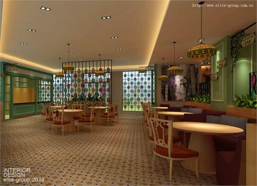 餐厅设计/餐吧设计/餐饮空间_美国室内设计中文网