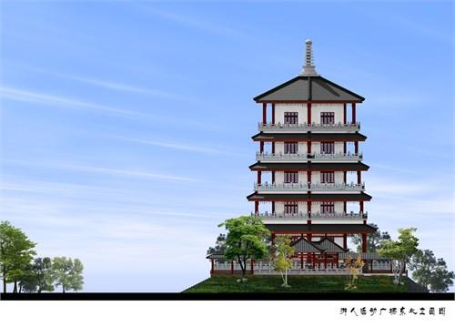 仪陇小东山景观建筑