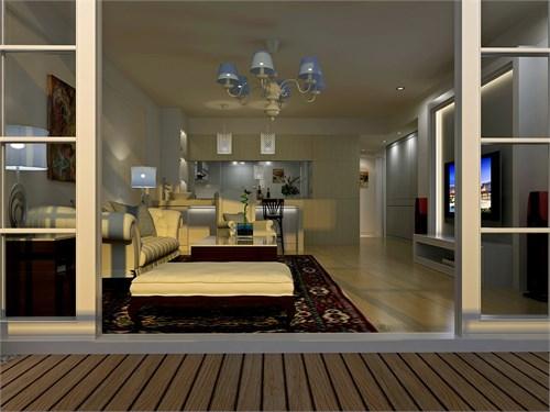 蓝郡广场——透气的房子_美国室内设计中文网