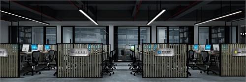 上与传统的金融公司办公空间设计的气质有明显的差异