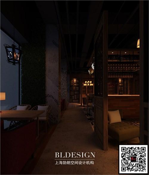 上海勃朗设计-漫时光咖啡厅设计案例