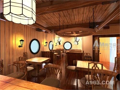 主题海贼船王餐厅v主题封面设计图片手绘图片