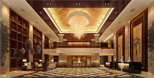 酒店大堂透视图