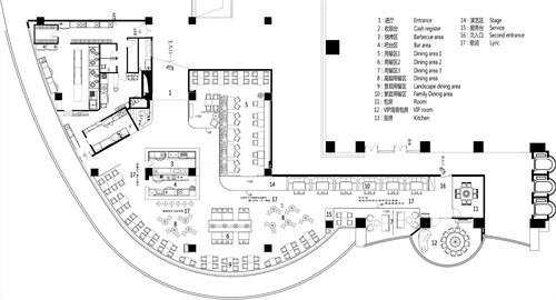 少年情怀乐自由-ydecodesign餐饮空间设计作品图片