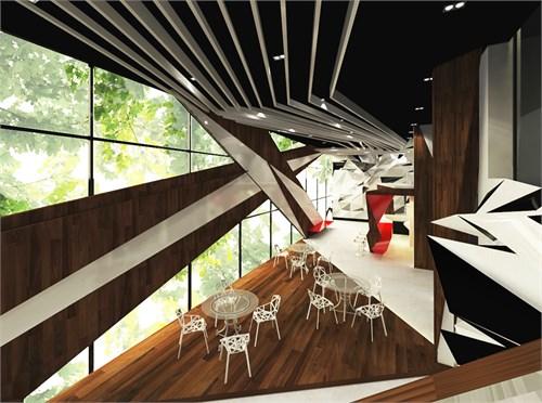 折纸的趣味-青年旅社_美国室内设计中文网
