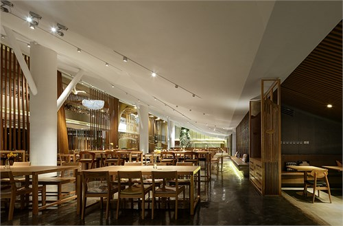 太空壁纸餐厅设计