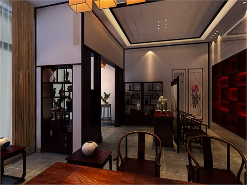 室内设计图楼中楼展示