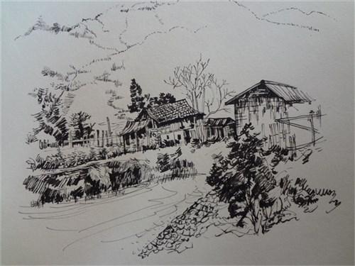 手绘作品_美国室内设计中文网