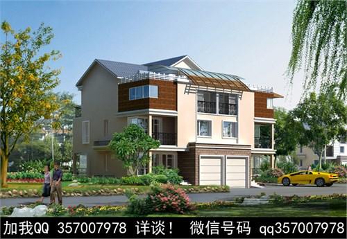 中式风格别墅v风格别墅效果图200案例层2图片平米图片
