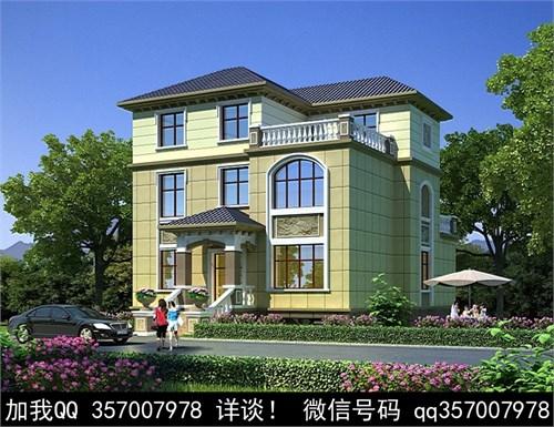 中式风格别墅设计案例效果图