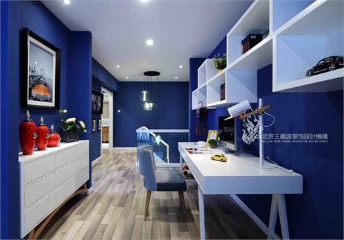 家是蓝色港湾_美国室内设计中文网