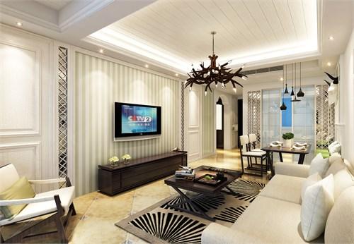 常州某小公寓家装_美国室内设计中文网