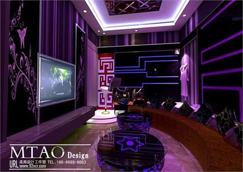 哈尔滨乐时尚ktv_ktv包房效果图设计-哈尔滨ktv设计