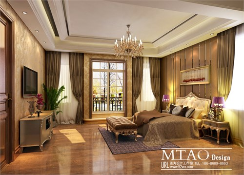 新古典风格家装效果图_美国室内设计中文网
