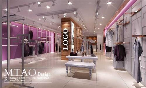 服装店挂衣服样式图片_服装店衣服挂法图片图片
