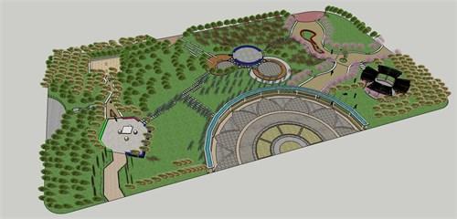 校园景观改造--百朗园