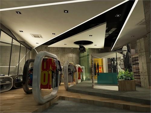 潮牌商业空间设计_美国室内设计中文网