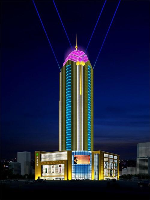 顶级写字楼照明设计,高端办公楼灯光照明设计,商业综合体灯光照明