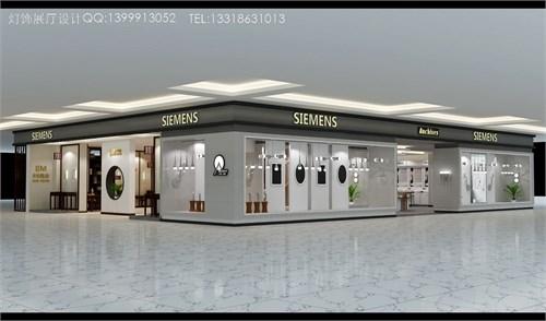 led灯饰店面,灯饰展厅,照明灯具店面展厅.