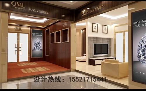 led灯饰展厅设计_美国室内设计中文网