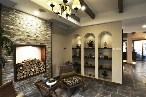 香缇绘制别墅_美国室内设计中文网第一张用比例尺漫步的地图图片