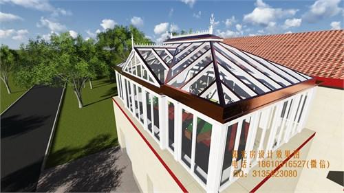 欧式古典阳光房设计效果图_美国室内设计中文网