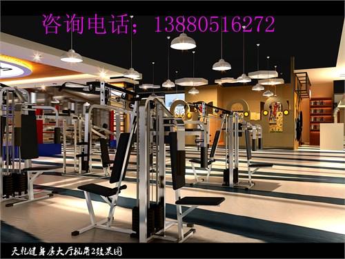 成都专业健身房装修设计公司/健身房设计效果图/健身