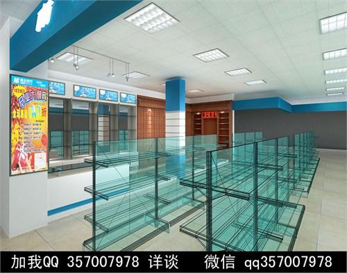 药店设计案例效果图_美国室内设计中文网
