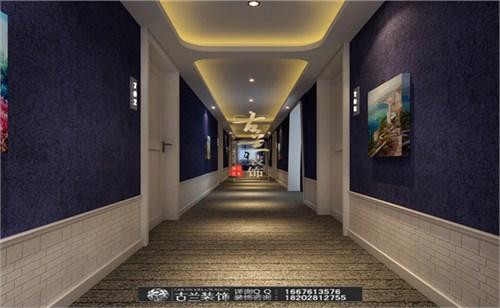 成都爱情海主题酒店过道设计