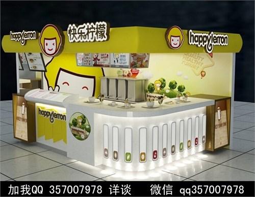 店 鲜榨果汁 情侣卡座 员工更衣室 吧椅 吧台 收纳柜 甜品店装修效果