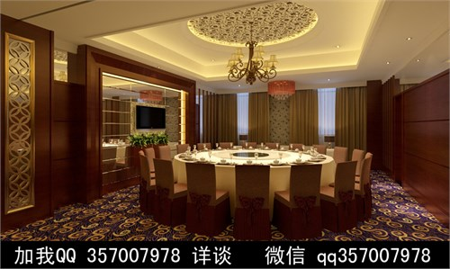 中式视频v视频案例效果图天正建筑设计教程餐厅百度网盘图片