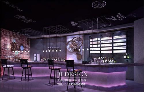 特色主题餐厅设计-青岛摩登时代主题餐厅酒吧设计图