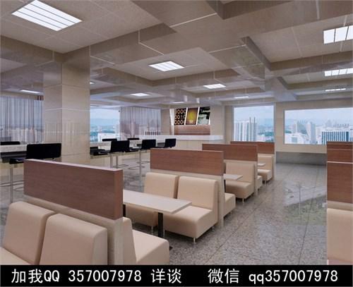 富士康咖啡厅设计案例效果图_美国室内设计中文网