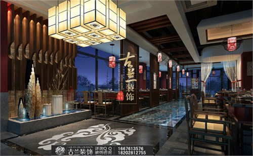 眉山餐厅设计公司|眉山火锅店设计|二王宴火锅店设计