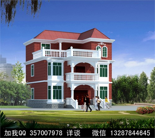 农村别墅盖房设计案例效果图