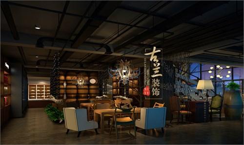 西村大院啤酒馆——北海酒吧装修设计案例