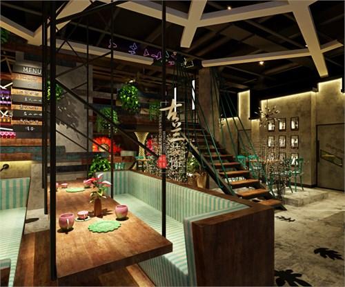 遵义特色咖啡厅专业装修设计公司-古兰装饰 时光花园咖啡厅设计