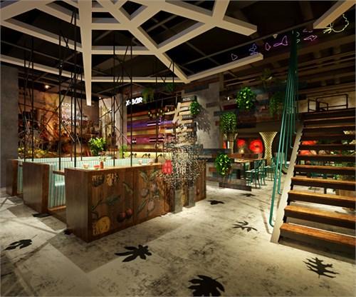 遵义特色咖啡厅专业装修设计公司-古兰装饰|时光花园咖啡厅设计