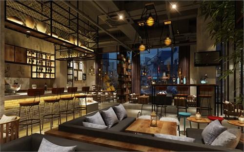 遵义特色咖啡厅专业装修设计公司-古兰装饰TID咖啡厅设计 项目面积:180平 项目地址:小天北街 TID咖啡厅设计说明:此项目位于小天北街,一群年轻有理想的医药工作人员突发奇想 ,合伙开起了这家咖啡馆,咖啡馆的经营理念白天卖咖啡,晚上清酒吧,咖啡馆会经常组织一些party、开会、flea market、物物交换、出售礼品纪念品、摄影取景等。