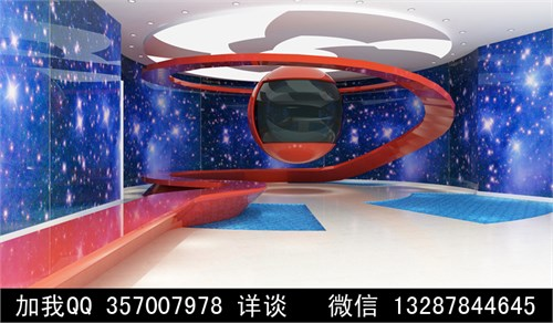室内展厅设计案例效果图
