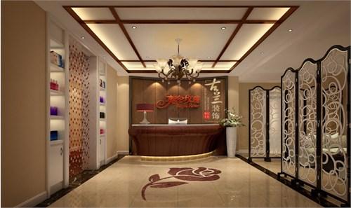 楚雄英伦玫瑰专业特色美容院装修设计公司-古兰装饰