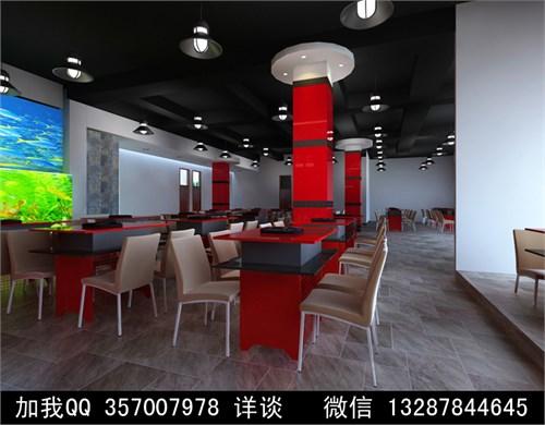 火锅店设计案例效果图2_美国室内设计中文网