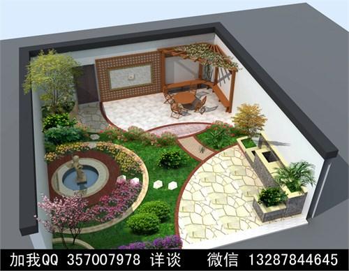 庭院设计案例效果图2