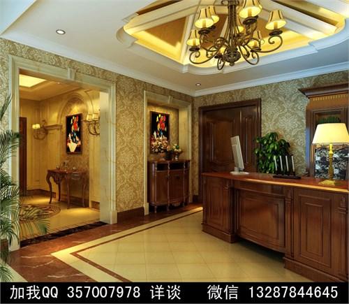 欧式风格别墅室内装修设计案例效果图